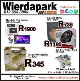 Amazing Promotions at Wierdapark Midas!
