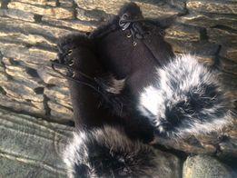 Продам замшевые перчатки