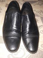 Продам мужские кожаные туфли 42 р-р