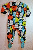 Carters флисовые пижамы, человечки, слипы, человечек картерс Новые Опт