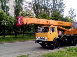 Услуги аренда автокрана 16-25 т (стрела 21,7 м).Срочная подача!!!