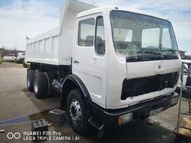Merc double diff tipper stripping only