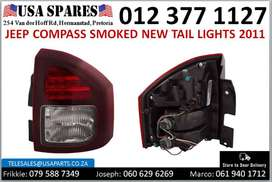 Jeep Compass 2.0/2.4* 2011-17 new smoked tail lights for sale