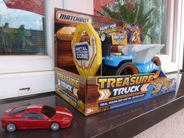 Matchbox pojazd/wykrywacz metalu+gratis auto