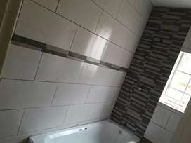 Wooden floors and tiling