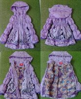 Плащик куртка для дівчинки 3-6років