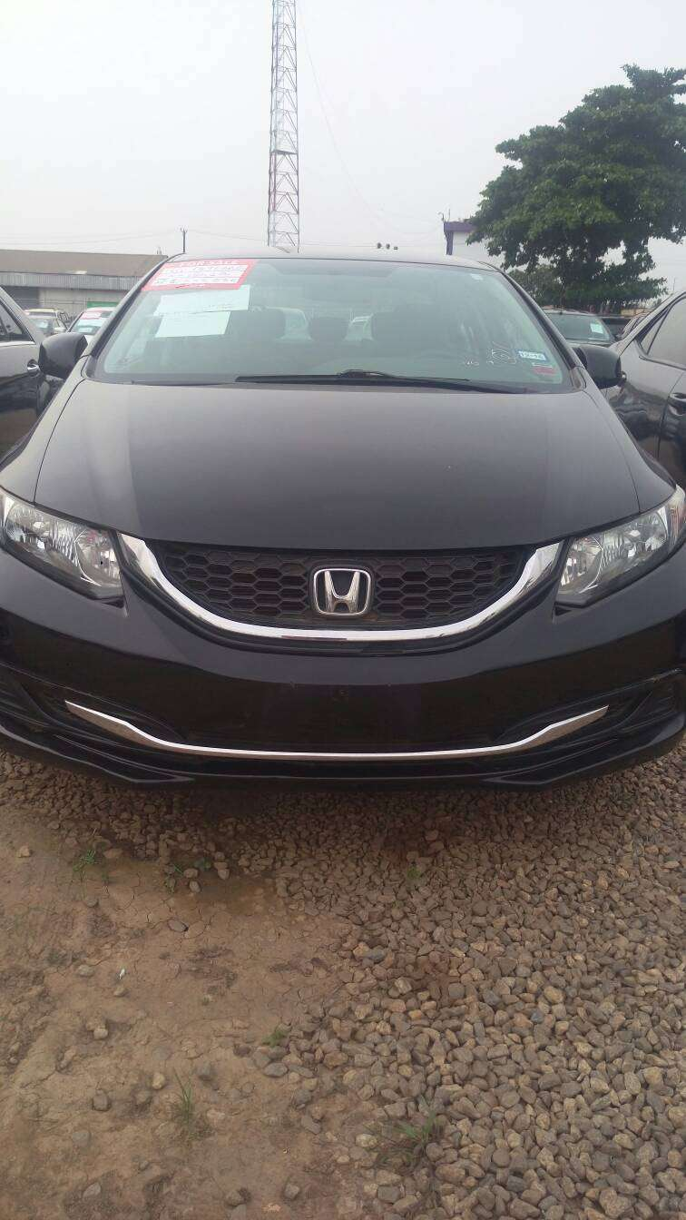 Honda Civic black 2013 0