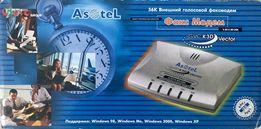 Факс Модем Asotel внешний голосовой 56 К GVC K3D Vector