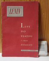 Lenin - List do Zjazdu