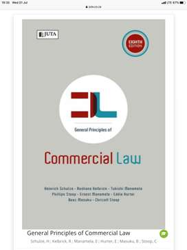 General Principles of Commercial Law, Schulze 9th edition