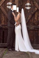 Piękna Suknia Ślubna Madonna 36