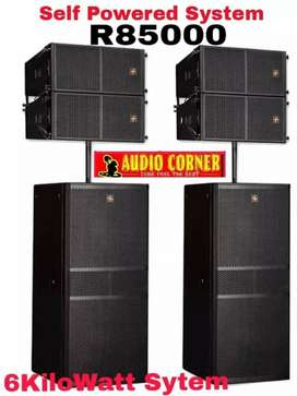 Hybrid + Linearray Powered ready To Play