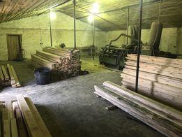 Распиловка, сушка, строгание древесины (услуги)