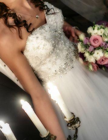 Suknia ślubna Justin Alexander 8724 rozm. 34 Strzelce Opolskie - image 8