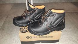 Buty robocze z blachą 35zł atest