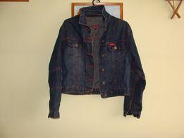 kurtka jeansowa granatowa -m