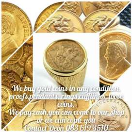 Selling your gold coins? We Buy Gold