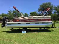 Image of 2013 Sun Tracker Party Barge 22 DLX with 115Hp Mercury 4 Stroke