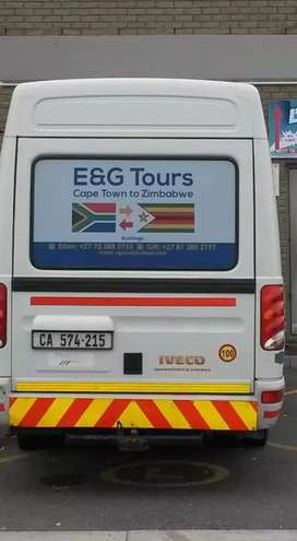 E & G tours from Capetown to Zim