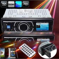 Radio USB moc 4x50W! SD card LCD AUX MPX MP3 WMA