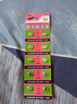 WATCH BATTERY 10PCS/lot =1cards AG4 377A 377 LR626 SR626SW SR66 LR66