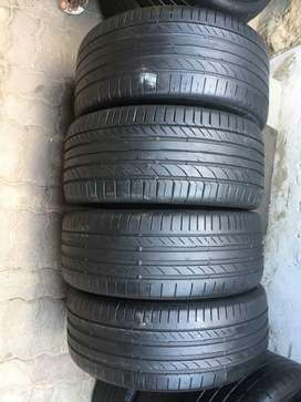 225/45/18 And 255/40/18 Continental Conti Sport Contact Run Flat Tyres
