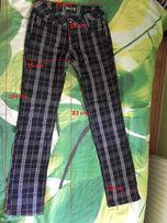 spodnie w kratę WYSYŁKA GRATIS!!!