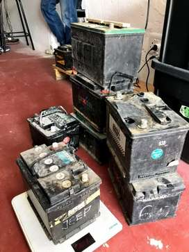 We buy scrap batteries