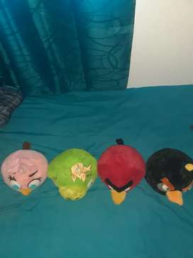 Selling angry birds teddies for R100 each