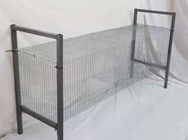Two  Compartment Rabbit Cages