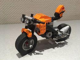 Zestaw klocków Lego Creator 7291 pomarańczowy motocykl