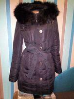 Красивый натуральный пуховик пальто