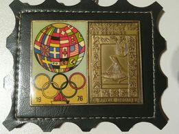 Emblemat z Olimpiady w Montrealu w 1976 r.