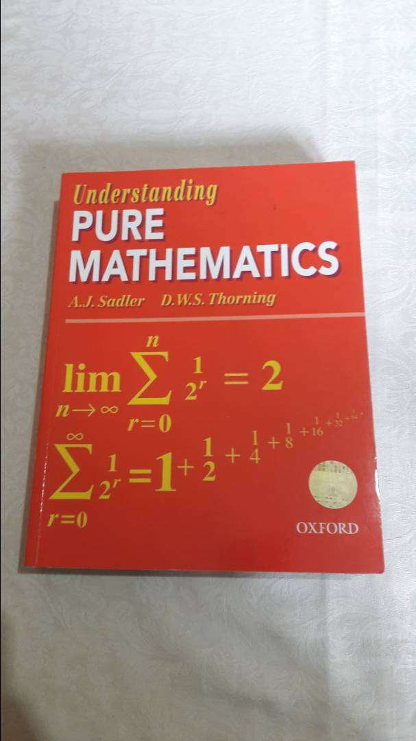 Understanding Pure Mathematics by Sadler 0