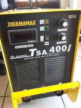 THERMAMAX tig welding machine 380V input