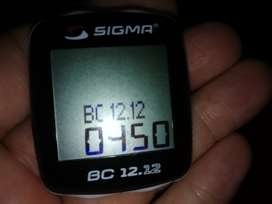 Sigma BC 12.12 bicycle computer for sale!
