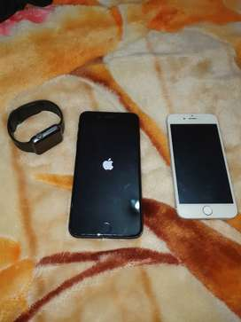 Iphone 7+ 32g iphone 6 64g apple watch series 2 38m