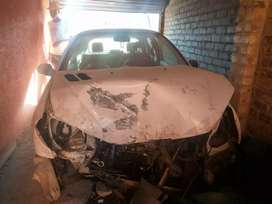Accident damaged 2009 Peugeot 206Gti