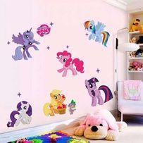 Интерьерная виниловая наклейка My little pony в детскую и не только
