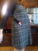 Продам теплое платье для беременных