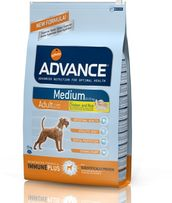 Корм для собак Advance Dog Medium Adult 18 кг Эдванс Дог Медиум 18 кг