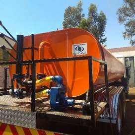 Water tanker manufacturing a