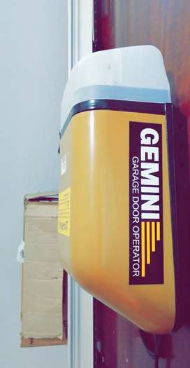 Gemini garage motor and extrusion sectional