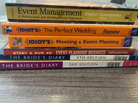 Books (meetings, events and wedding planning)