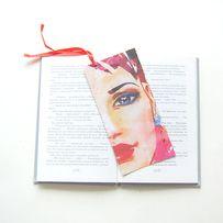 Kolorowa zakładka do ksiązki, fajna zakładka do książki oryginalna