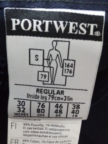 Spodnie Robocze Portwest Bizflame trudnopalne rozm S Lewin Brzeski - image 2