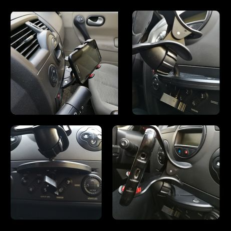 Uchwyt do telefonu samochodowy NOWY / uniwersalny / NAJBEZPIECZNIEJSZY Bytom - image 6