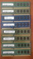 Оперативная память ОЗУ RAM 2GB 4 GB DDR 3 Samsung Hynix 12800 10600