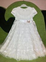 Нарядное платье для маленькой принцессы . Deloras ( размер 110)