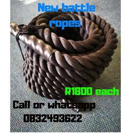 New Battle ropes